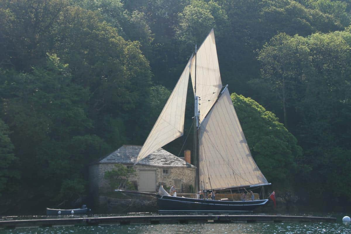 Favourite West Country Ports - Oak woods and creeks on the River Fowey