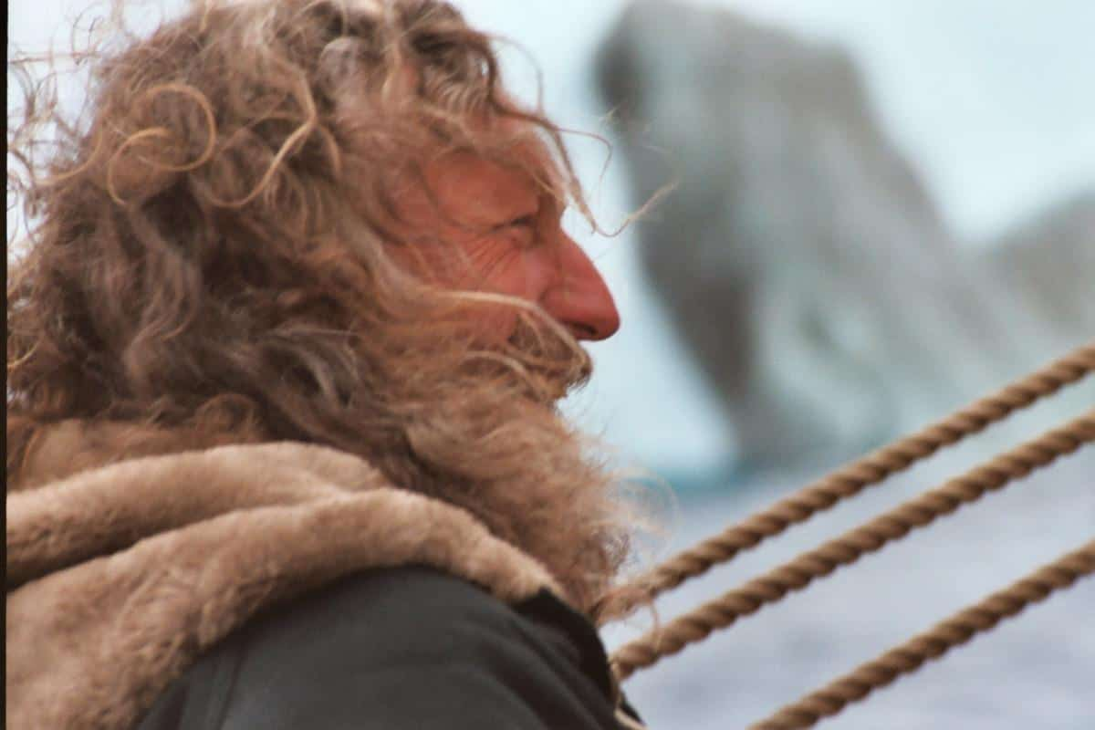 Captain Klaas Gaastra has been sailing Europa in Antarctica  for over 15 years