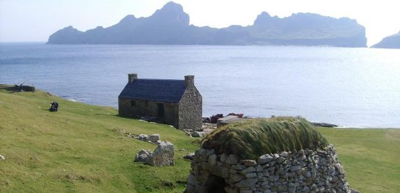 St Kilda Sailing on Blue Clipper with Classic Sailing in Scotland