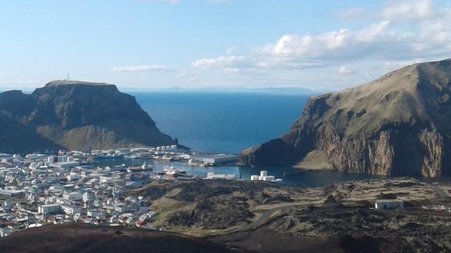 Heimaey in Iceland