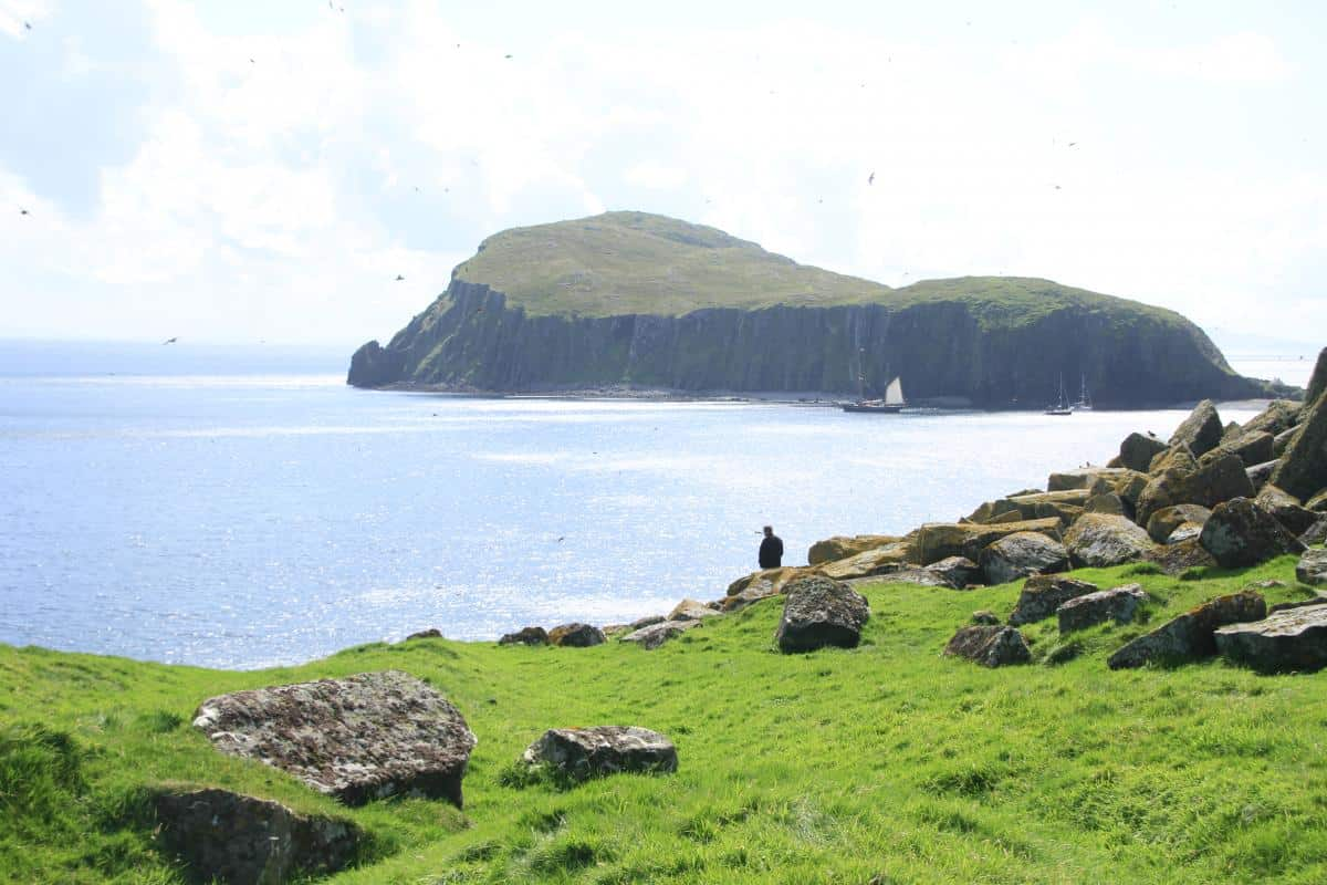 Ashore with the puffins and sea eagles in the Shiant Islands