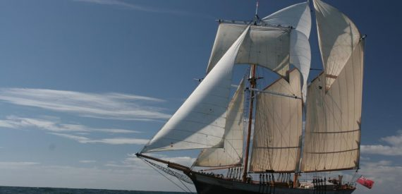 Classic Sailing on Johanna L:ucretia