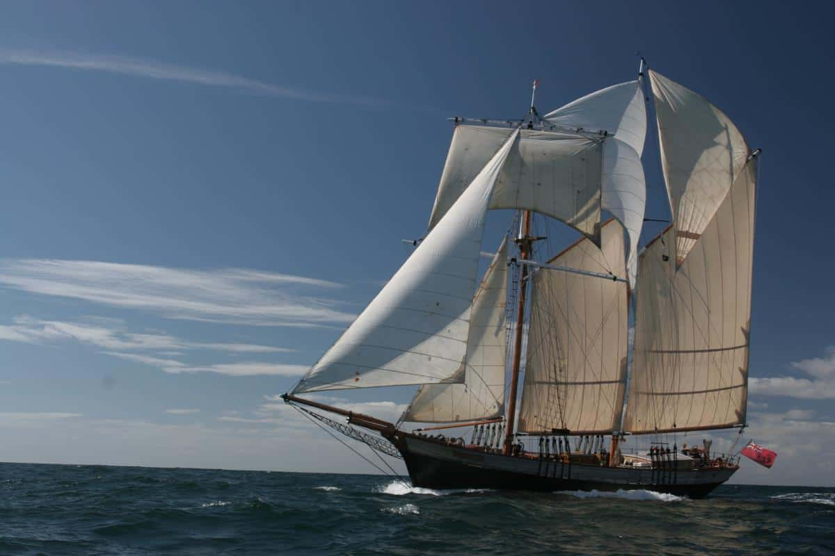 Classic Sailing welcome Johanna Lucretia to our fleet - under new ownership 2019