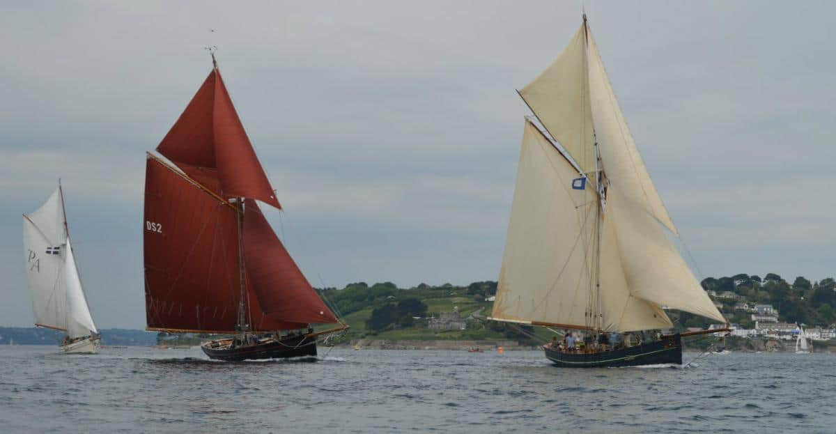 Classic Sailing Pilot Cutter Directory - Polly Agatha, Jolie Brise and Agnes