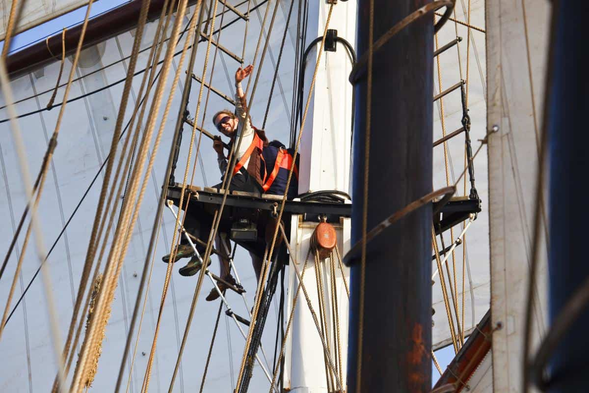 Photo by Arthur Smeets - a tall ship sailor and professional photographer