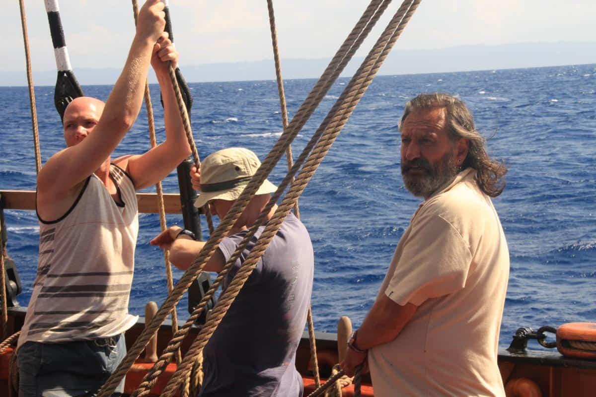 Ocean guest crew Peter Nigel and Tikeram