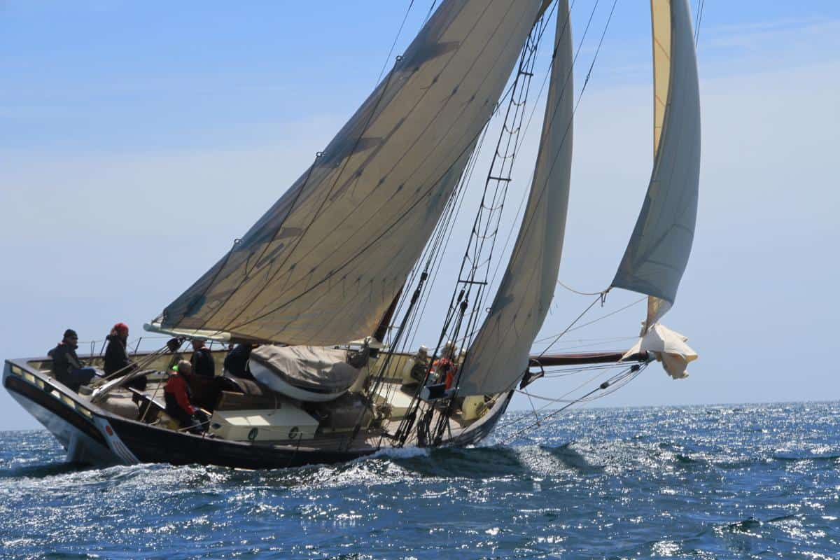 Classic Sailing Pilot Cutter Directory - Amelie Rose