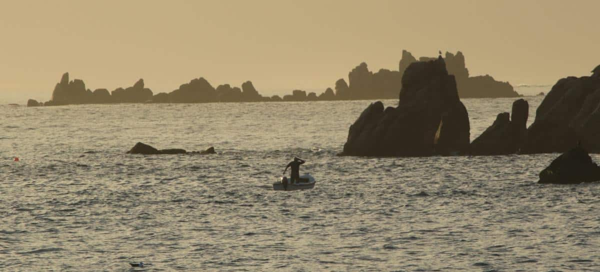 Fishing in the Scillies. Photo by Debbie Purser