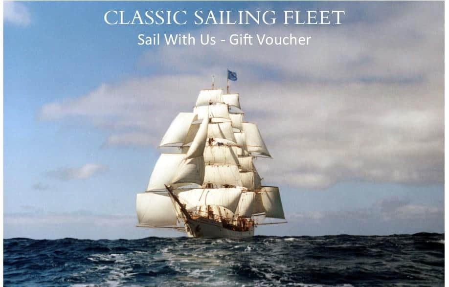 sailing holiday gift vouchers