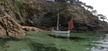 Secret coves in Cornwall on Outdoor Girl