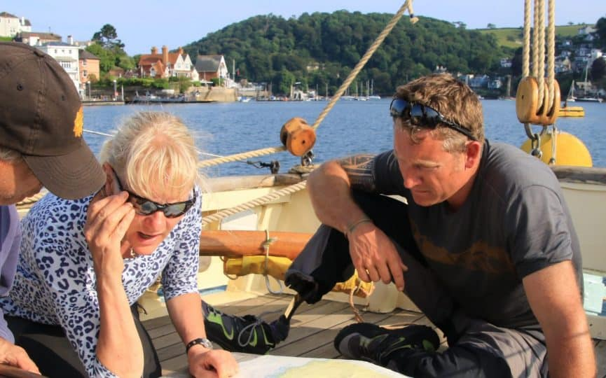 learning navigation in salcombe