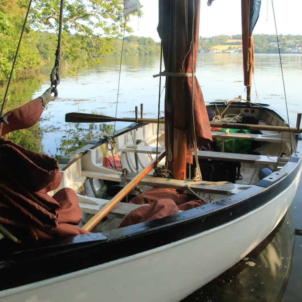 hide amongst the trees on your open boat weekend