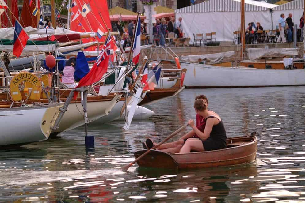 sculling in paimpol