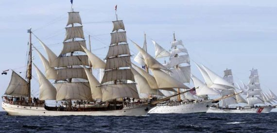 Tall Ships Race Start - photo by tallshipstock