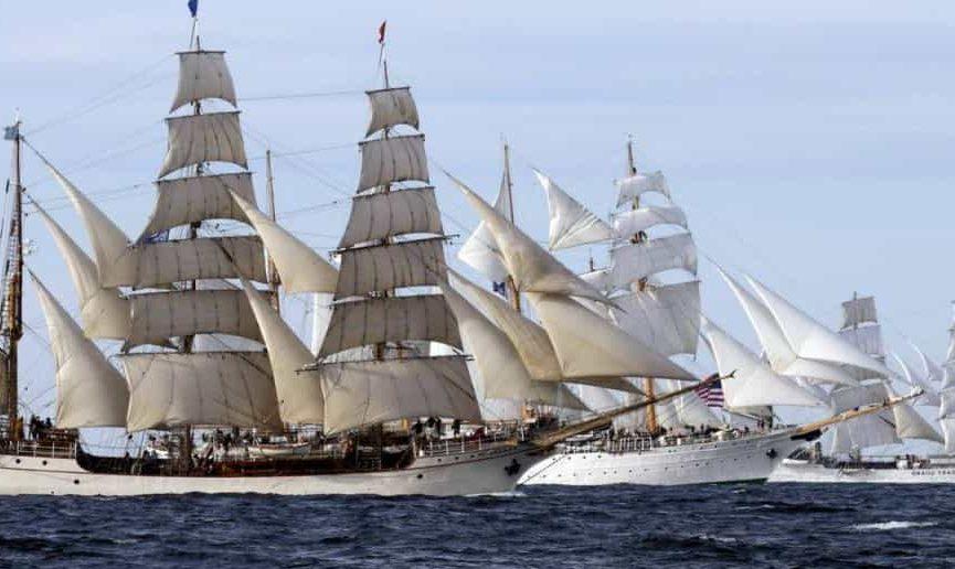 Tall Ships Race Start - photo by tallshipstock
