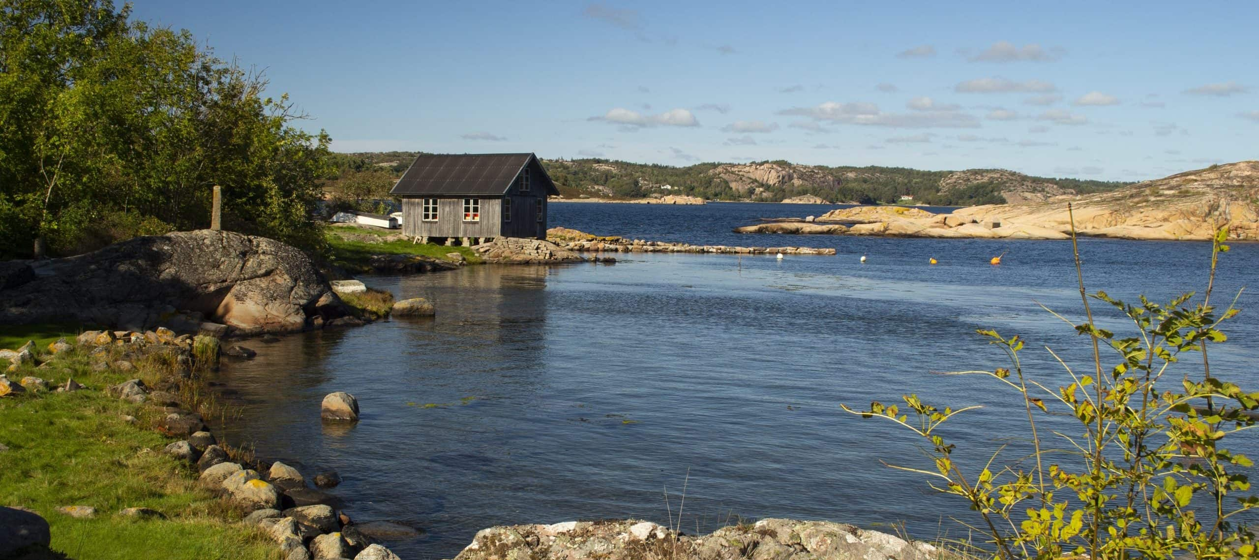 Swedish coastal sailing