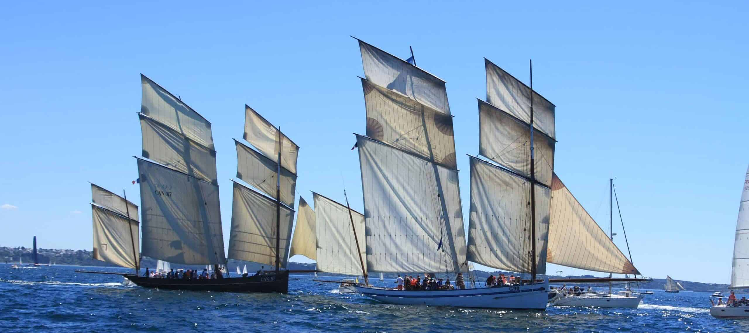 sail to the rade de brest