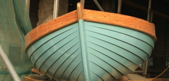 The beauty of clinker wooden boats