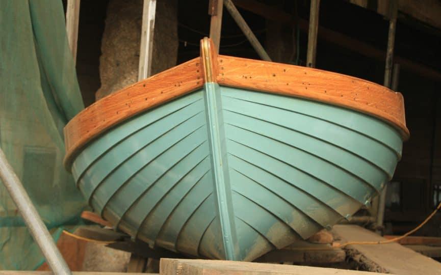 The beauty of clinker wooden boats