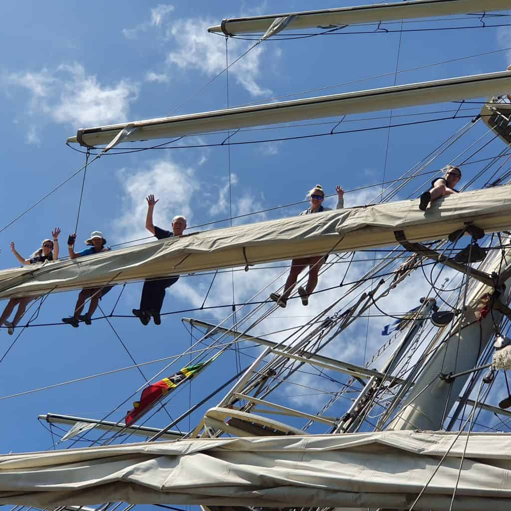 Sail on Tall ship Tenacious with Classic Sailing