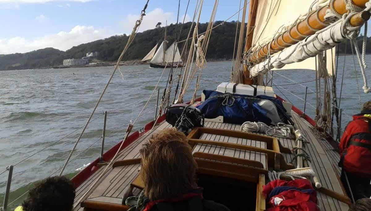 sail on Pegasus with classic sailing