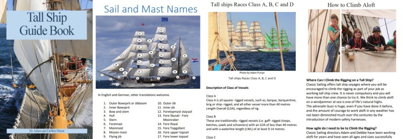 Tall Ship Guide and Log Book from Classic Sailing