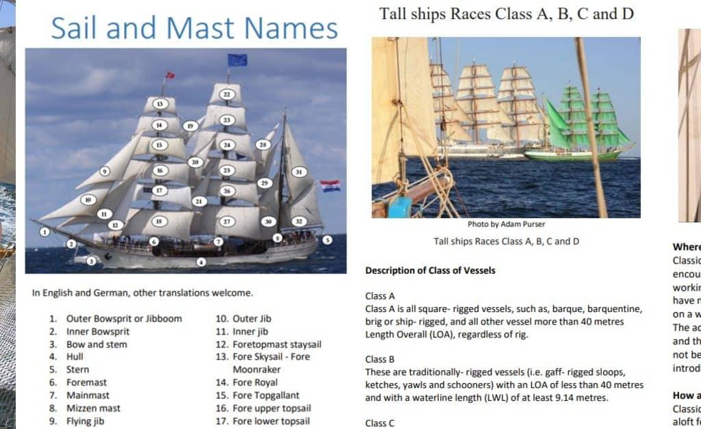No Cost Tall Ship Guide Book