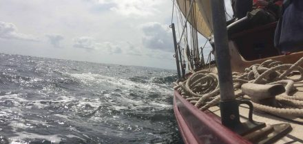 Sailing on Moosk with Classic Sailing in Cornwall and Devon