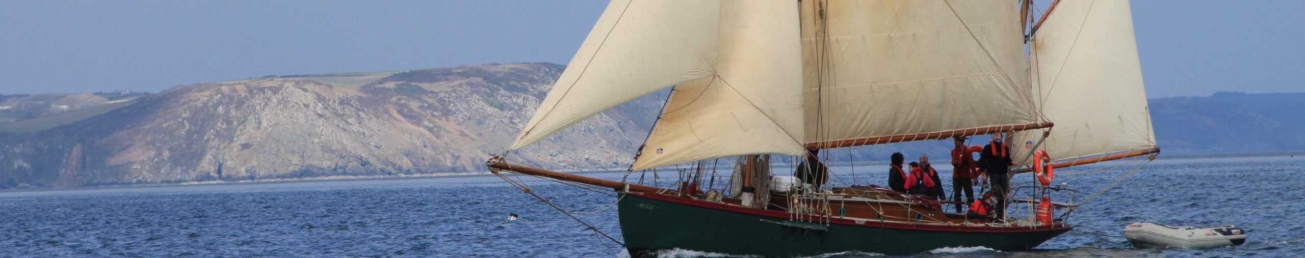 The beauty of RYA Courses on traditional yachts.