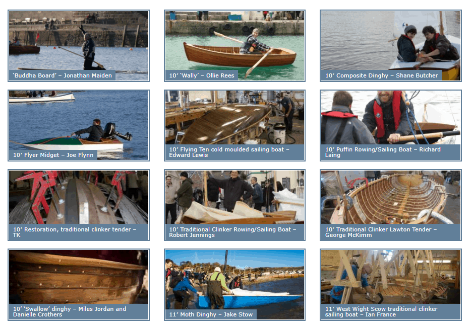 Boat Building Academy with Classic Sailing