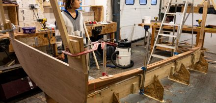 Build your own boat at the Boat Building Academy