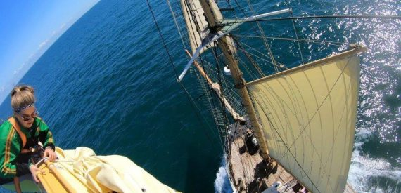 Sail on Pelican for the Darwin 200 UK tour 2021 with Classic Sailing