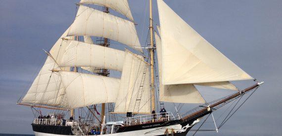 Darwin200 Leg 1 with Classic Sailing