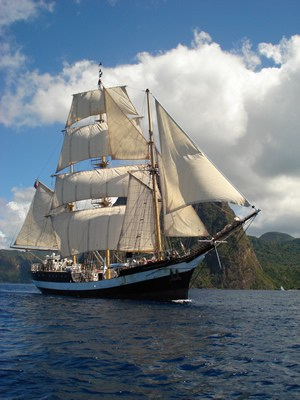 Pelican with Classic Sailing and Darwin 200
