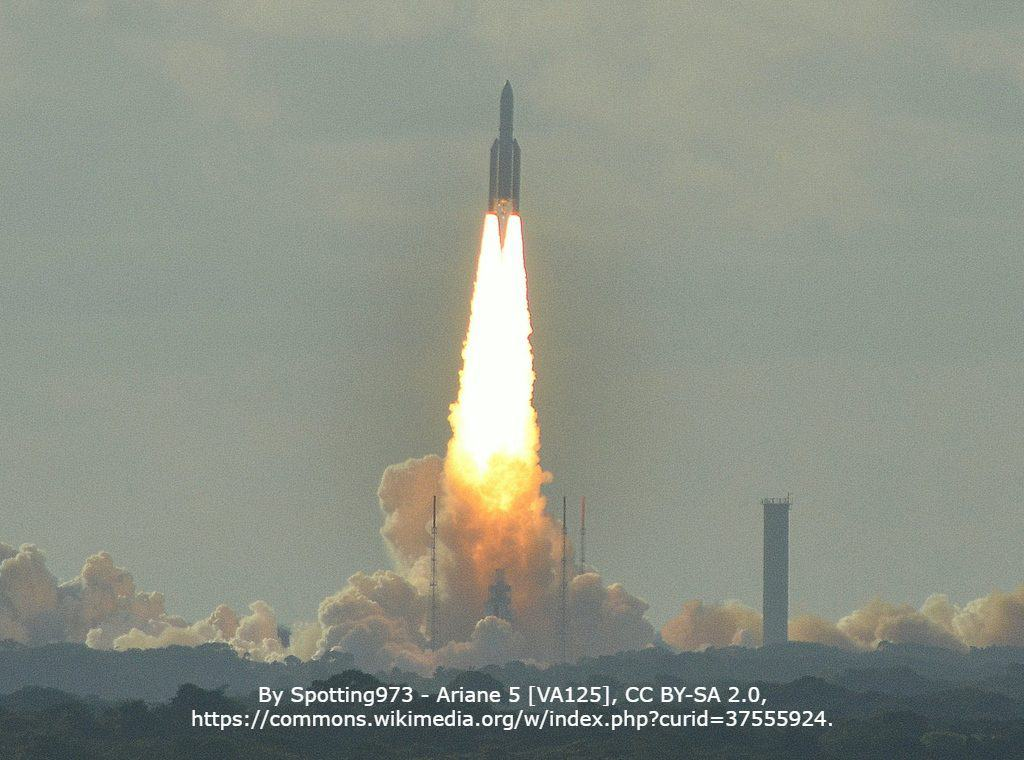 By Spotting973 - Ariane 5 [VA125], CC BY-SA 2.0, https://commons.wikimedia.org/w/index.php?curid=37555924