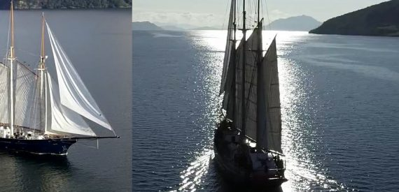Sailing on Blue Clipper with Classic Sailing in Scotland