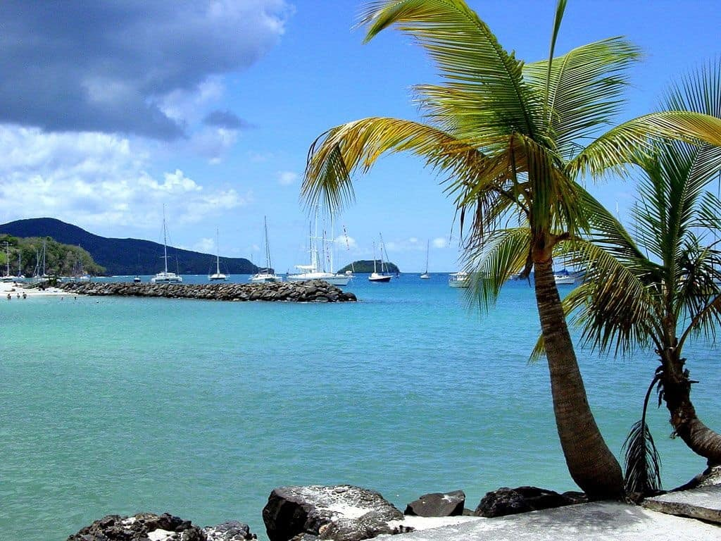 Martinique Fort de France The Caribbean on a Tall Ship Sailing Morgenster with Classic Sailing
